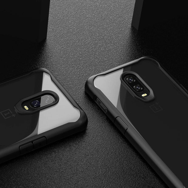 Shockproof Armor Clear Hybrid Bumper Rugged Case For OnePlus 8 Pro