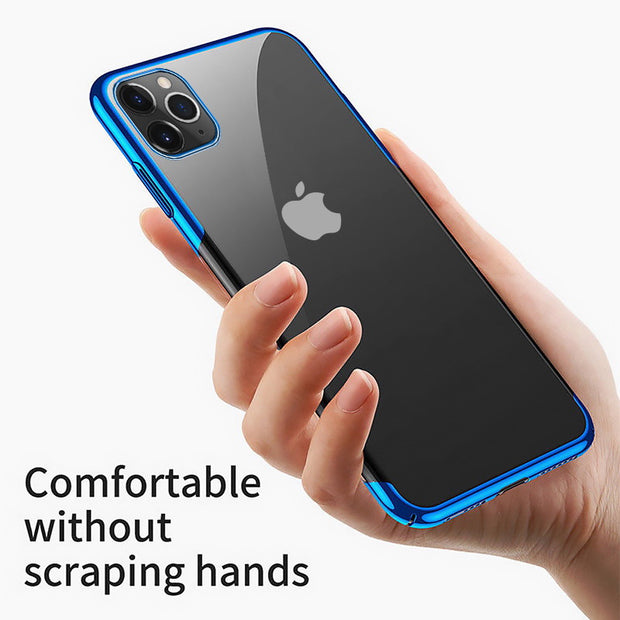 Plating TPU Glossy Soft Slim Case Cover For iPhone SE 2020 (2nd Gen)