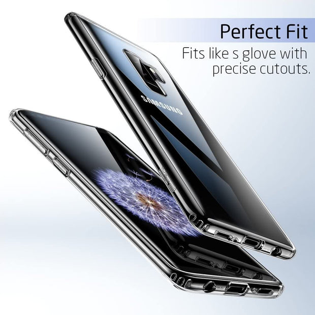 Samsung Note 10 Lite Case, Slim Clear Silicone Gel Phone Cover