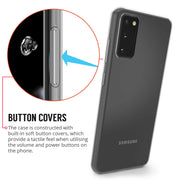 Samsung Galaxy S10e Case, Slim Clear Silicone Gel Phone Cover