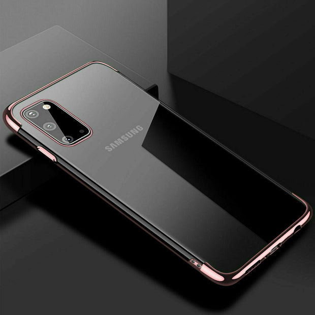 Samsung  A42 5G Case Tpu Gel Silicone Plating Case Cover
