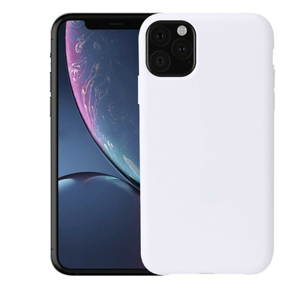 New Soft Liquid Silicone Shockproof Matte Back Case Phone Cover For Apple iPhone 11 Pro Max