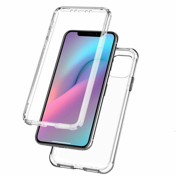 Front and Back Full protection Gel Skin Case Cover For Apple iPhone 11 Pro Max