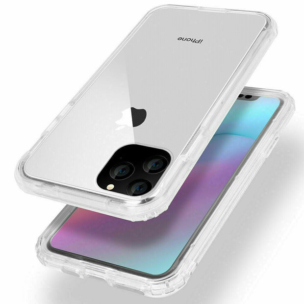 360° Front and Back Full protection Gel Skin Case Cover For Apple iPhone11