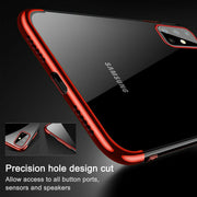 For Samsung  Note 20 Ultra  Case Plating Rubber Clear Slim Soft TPU Cover