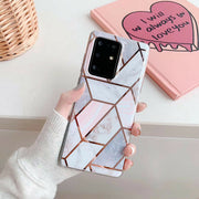 Samsung Galaxy S10 Plus Marble Silicone Cover
