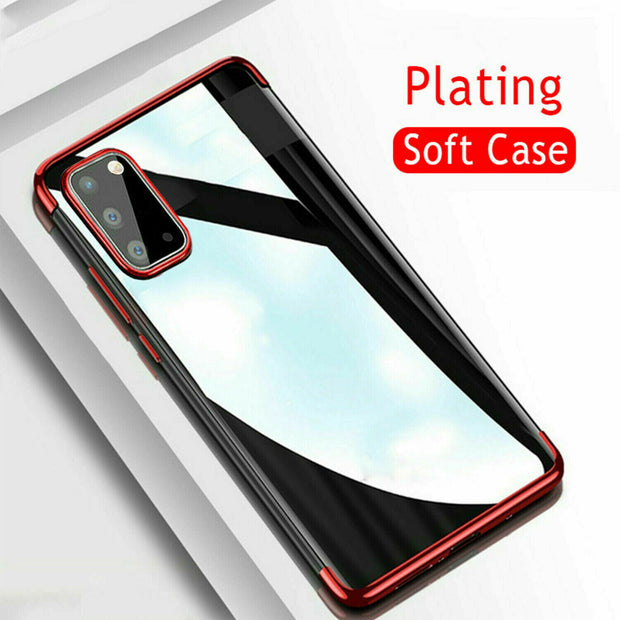 Samsung A40 Case Tpu Gel Silicone Plating Case Cover