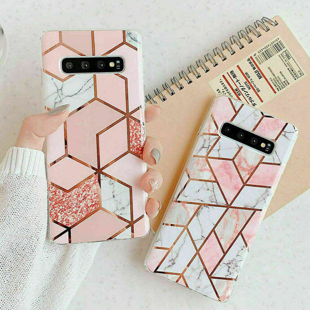 Samsung Note 10 Lite Marble Silicone Cover