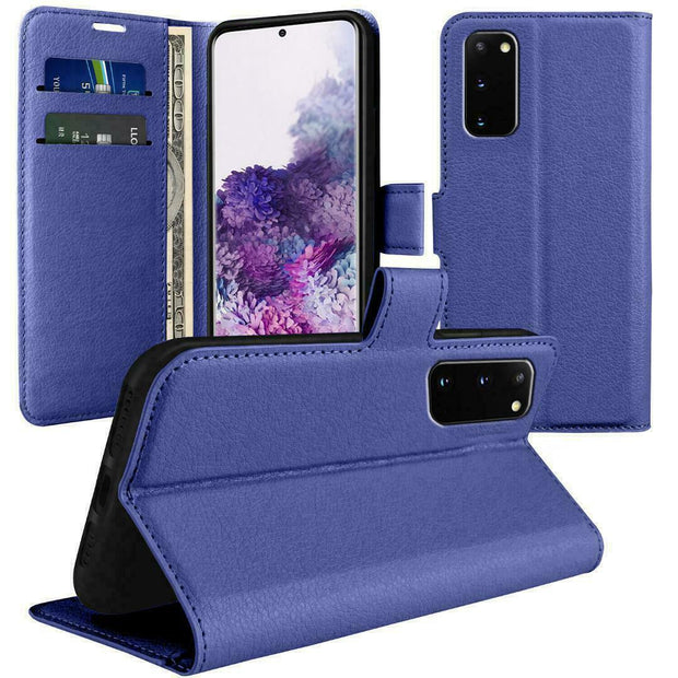 Case for Samsung S8 Plus Cover Flip Wallet Leather Magnetic Luxury