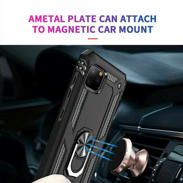 Apple iPhone 11 Pro Case Shockproof Heavy Duty Ring Rugged Armor Case Cover