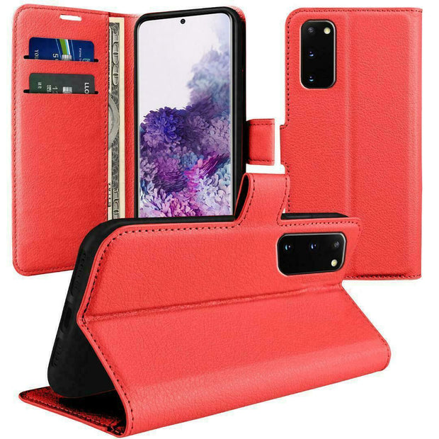 Case for Samsung S20 Ultra Cover Flip Wallet Leather Magnetic Luxury