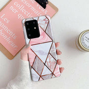 Samsung Galaxy S20 Plus Marble Silicone Cover