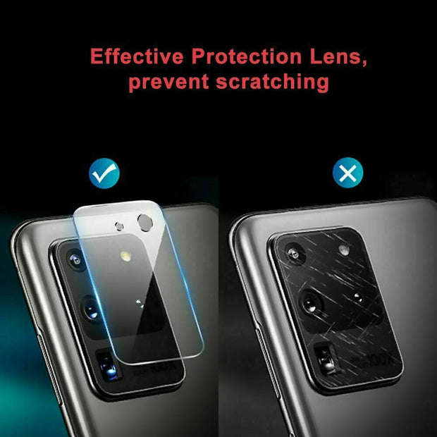 Fits Samsung Galaxy S21 Ultra  Camera Lens Tempered Glass Screen Protector Film