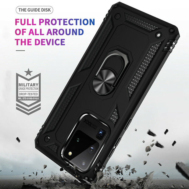 Samsung Galaxy S20 Ultra Case Shockproof Heavy Duty Ring Rugged Armor Case Cover