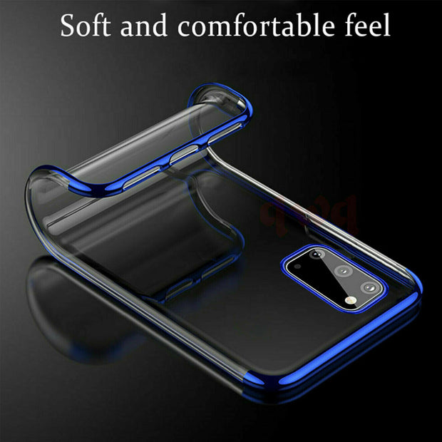 Samsung A71 Case Tpu Gel Silicone Plating Case Cover