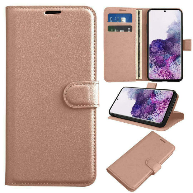 Case for Samsung A41 Cover Flip Wallet Leather Magnetic Luxury