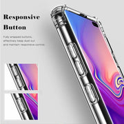 Clear Silicone Bumper Shockproof Case For Samsung Galaxy S10