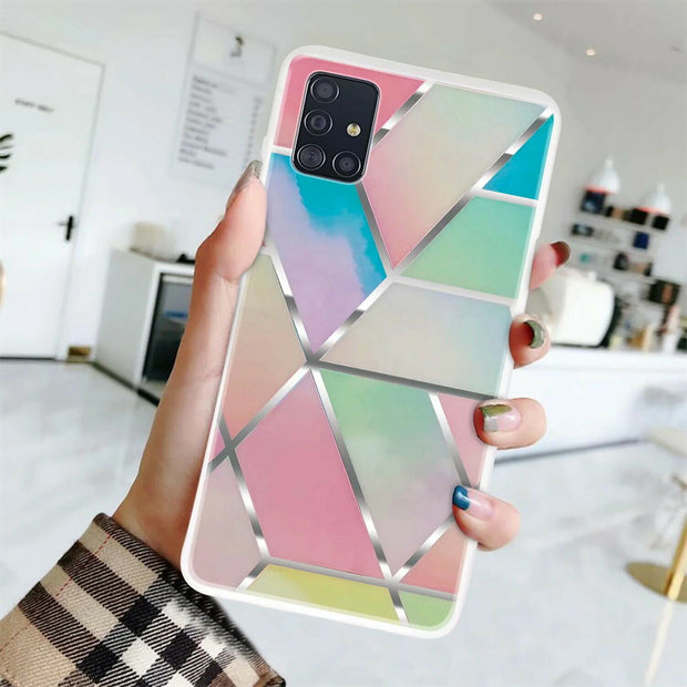 Samsung Galaxy S20 Marble Silicone Cover
