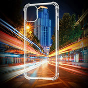 Clear Silicone Bumper Shockproof Case For Apple iPhone 11 Pro