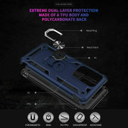 Samsung Galaxy S20 Plus Case Shockproof Heavy Duty Ring Rugged Armor Case Cover