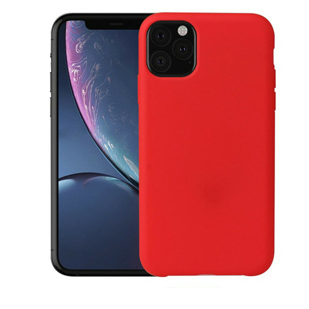 New Soft Liquid Silicone Shockproof Matte Back Case Phone Cover For Apple iphone XR