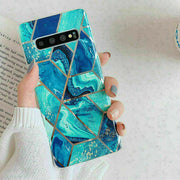 Samsung Note 9 Marble Silicone Cover