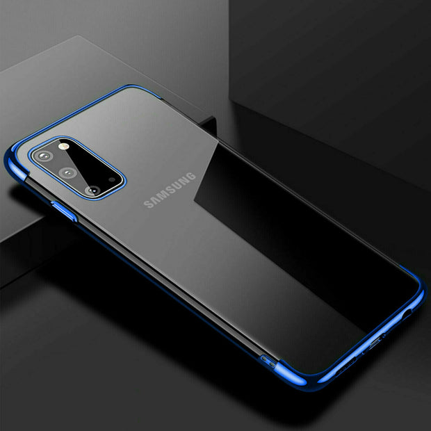 Samsung A90 5G Case Tpu Gel Silicone Plating Case Cover