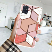 Samsung Galaxy S20 Ultra Marble Silicone Cover
