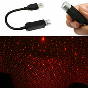 USB LED Car Roof Atmosphere Star Lamp Ambient Night Lights Interior Projector GE