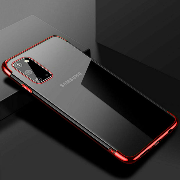 Samsung A51 Case Tpu Gel Silicone Plating Case Cover