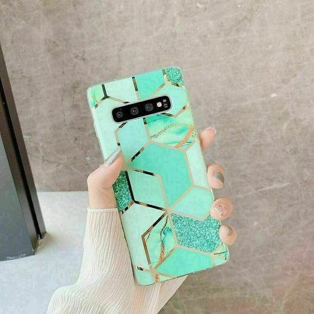 Samsung Galaxy S10 5G Marble Silicone Cover
