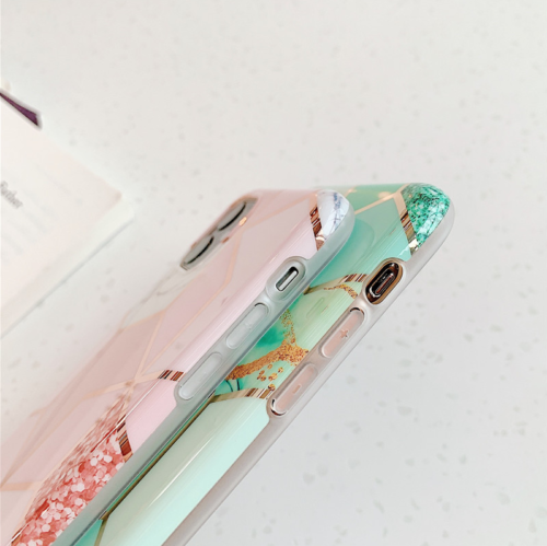 Marble Phone Cover Silicone Case For Apple iPhone 12 Mini 5.4""