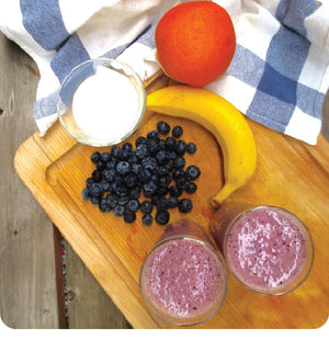 Classic Blueberry Smoothie