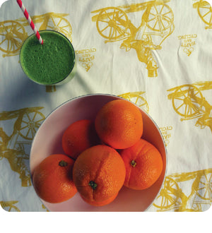 Green Orange Dreamsicle Smoothie