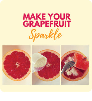 Sprinkle Sparkle On Grapefruit