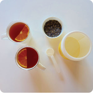 Calming Lavender Orange Tea