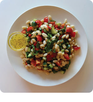 Citrus White Bean Salad