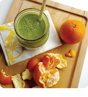 Tangerine Green Smoothie