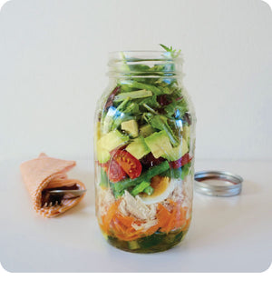 How To Make The Perfect Salad Jar