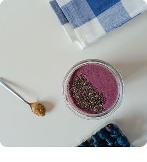 Blueberry Cauliflower Smoothie