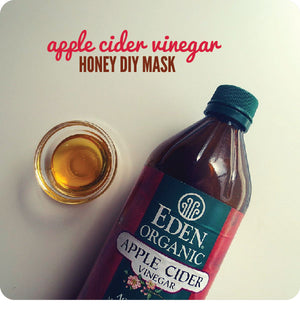 Apple Cider Vinegar Honey DIY Mask