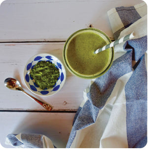 Creamy Moringa Green Smoothie