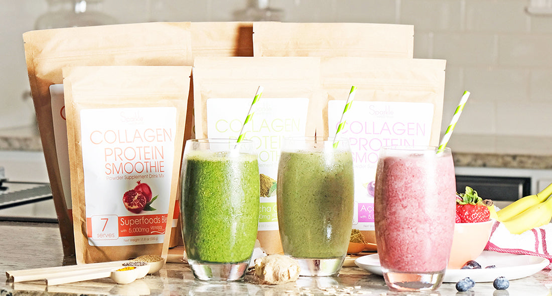 Sparkle Collagen Smoothie Mixes