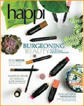 Sparkle's Yu Ming O'Neil interviewed in the January 2016 edition of HAPPI magazine