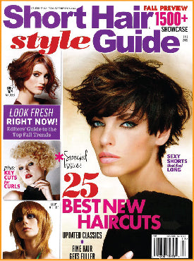 Short Hair Style magazine features Sparkle