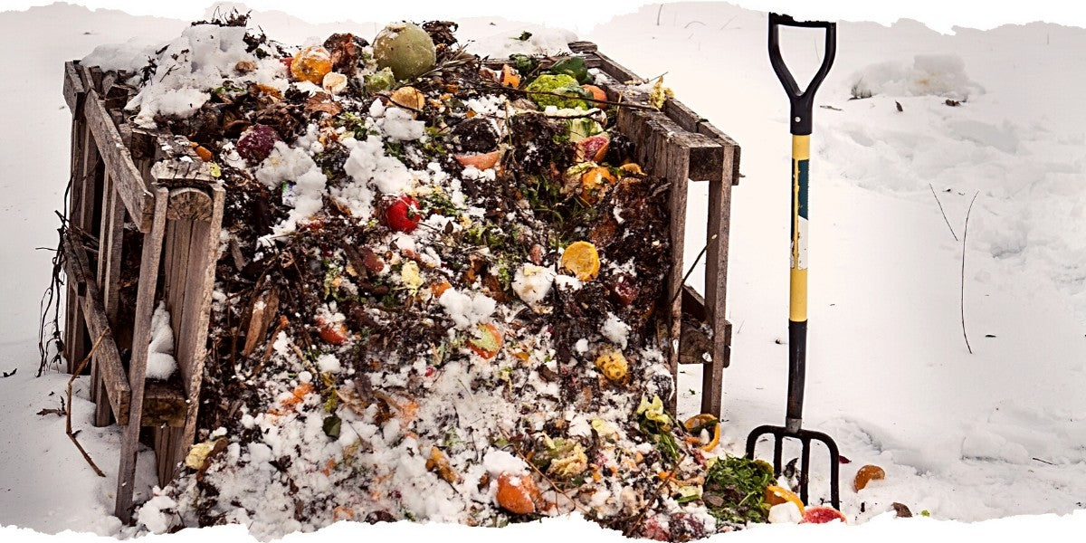 Winter Compost Pile
