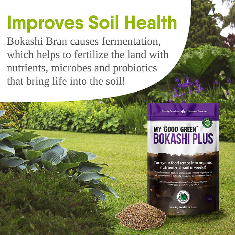 Benefits of Bokashi Plus Bran