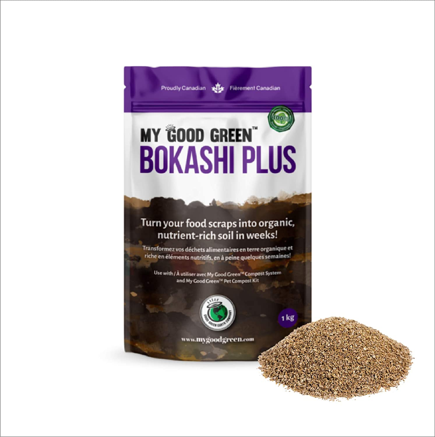 Bokashi Compost Start Kit Bran Accelerator