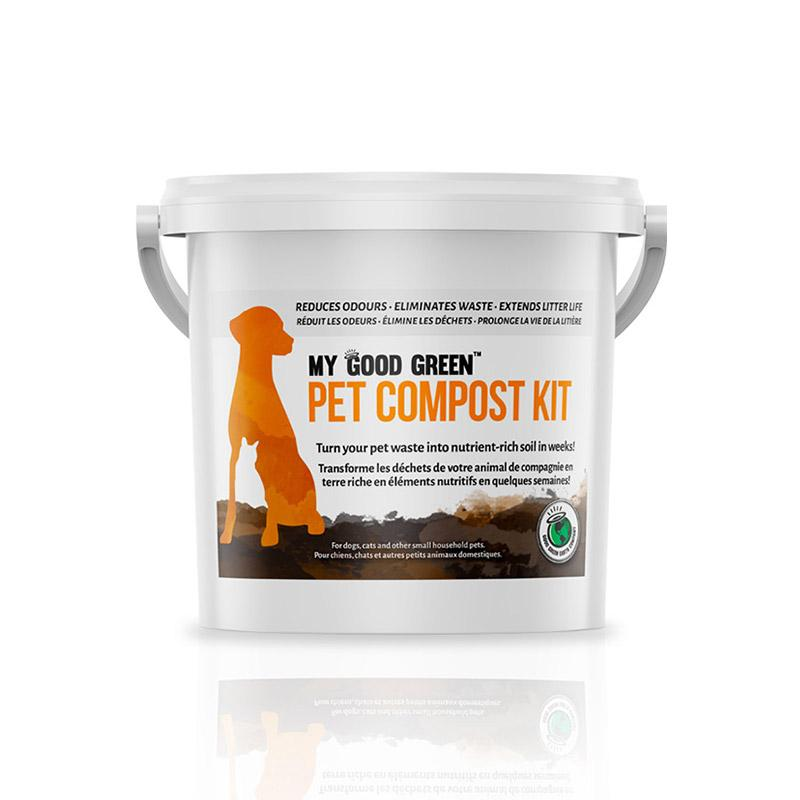 My Good Green Bokashi Pet Waste Composting Kit