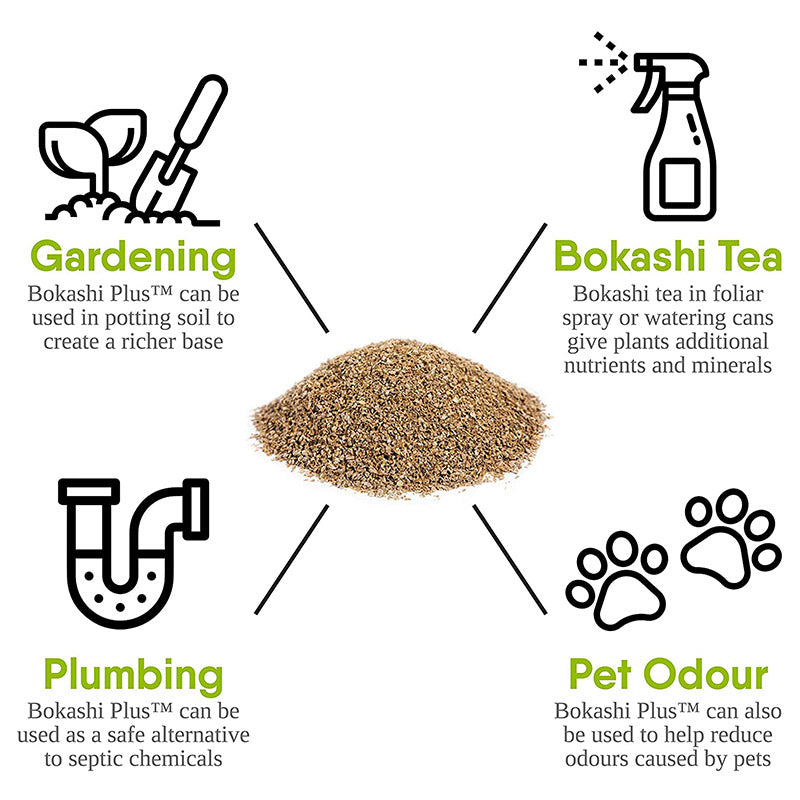 Ways to Use Bokashi Bran